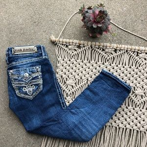 Rock Revival Denim Arisa Crop Jeans Size 24